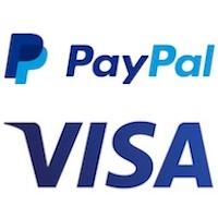 PayPal, Visa