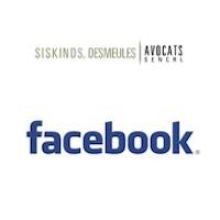 Siskinds Desmeules, Facebook