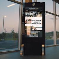Tourisme: des écrans tactiles interactifs de ShoppingRoad à Gatineau