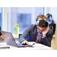 Diagnostics cliniques: Saccade mise sur la réalité virtuelle et l'infonuagique