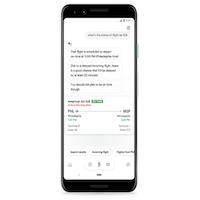 Des retards aériens prédits par Google Assistant