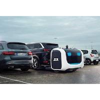 Projet de valets-robots de stationnement à l'aéroport Gatwick en Angleterre
