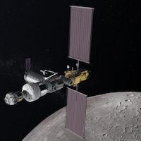 Projet fédéral de système d'entretien de station lunaire en orbite