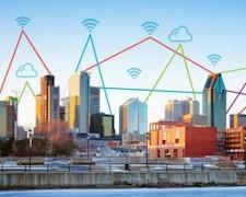 Un réseau 5G testé à partir du toit de l'ÉTS à Montréal