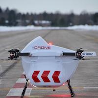 Entente entre Air Canada et Drone Delivery Canada