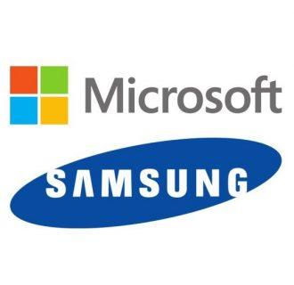 logos microsoft samsung