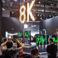 Officialisation des normes pour les télévisions 8K