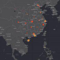 Une carte interactive pour suivre l'évolution du coronavirus