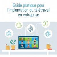 Télétravail: le Conseil du patronat lance un guide d'implantation